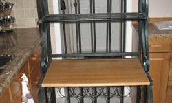 Wine rack in good condition and like new