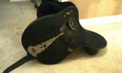 Wintec Gullet Size horse saddle