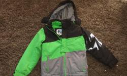I have a green/black/grey winter coat for sale. The brand is wset bound aND os size 8/10.
