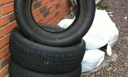 winter tire 225-60-16 good condition like new  3month use only 250$(647)740 4200 (647)932 9760