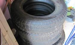 Winter tires in perfect condition Set of 4, 155/80/13 - no rims Used one season