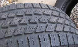 Two tires, Very good condition, used one season NORDIC ICETRAC 205/60/15