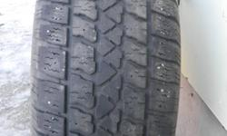 4 Arctic Claw winter tires, rubber only.  215/60/R15 off chevy malibu.  65% tread measured.  Asking $250.