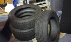 Selling Dunlop winter tires, used one season. Tires, no rims.
