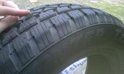 Arctic Claw Snow tires $200 - OBO Good condition, don't fit my new vehicle.
