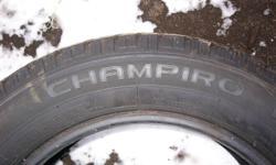 for sale 4 winter tires champiro  205/60R16  $325.00 obo  phone 624-6361