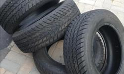 Winter tires size 195 -65-15,used one winter, Runway brand