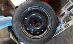 14 inch Winter tires on rims great shape hardly used o.b.o