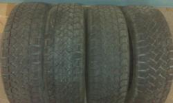 Snowtraker  Pacemark Radial  ST/2   Like new. Only used for 1 month last winter.  All 4 Tires  $250.00