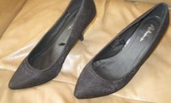 Woman's Black shoes Size 9 Brand - Reitmans Paid $40 + for them - letting go for ONLY $10 Great condition - like new Can meet in west end of ottawa (kanata) or pickup in Constance Bay