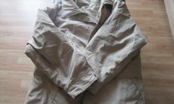 Woman's WInter Jacket - NO hood included Size Large Color - Beige Brand - EURECA by D.A.K. Sportswear Ltd Made in Canada $15 Can meet in west end of ottawa (KANATA) or pickup in Constance Bay