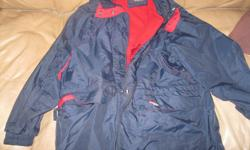 Women's Spring/Fall jacket with hood Color - blue / red Brand - Polar Zone Outerwear $15 Can meet in west end of ottawa (kanata) or pickup in Constance Bay