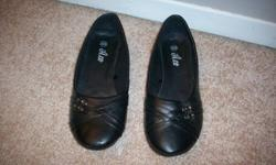 - Black flats *New, Never Worn $5 - Size 7 - Purple Heels *New, Never Worn $20 - Size 7