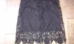 """1. Black lacy skirt size small asking $10 2. Sparkly tank top size small asking $5 3. """"Talula"""" brand blue lace shirt from aritzia size xxs asking only $10 due to rip in left sleeve barley noticable. See my other ads, lots to choose from"""