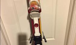 VOLKL ATTIVA FUEGO SKIS + EMOTION 11.0 TC BINDINGS - WOMEN'S 2011 - Excellent condition. 158 cm The Volkl Attiva Fuego is an outstanding piece of equipment. The Bio-Logic Geometry lends it enormous turn-friendliness and reduces stress peaks at the end of
