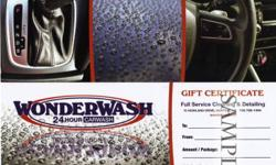 Muskoka's Best Automotive Detailing Service 2 Years In a Row As Voted By You!      For two years in a row, WonderWash Car Wash has been voted as Huntsville's favorite place to pamper your vehicle in the readers choice awards.    We pride ourselves on