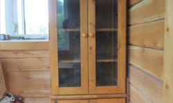 Two identical wood display cabinets in great shape, priced to sell. Narrow and deep so great to put against narrow wall spaces. Moveable shelves. Two feet wide, 23 inches deep, 62 inches tall. $100 each or $175 for both. Can deliver for price of gas to
