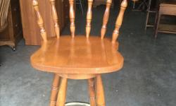 Wooden bar stool For more furniture see seller's list