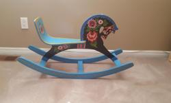 Antique Rocking Horse for sale. All original craftsmanship. Asking price: $85.00 Serious buyers only please.