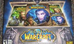 Includes both the oringinal World of Warcraft and the Burning Crusade expansion pack, Official Battle Chest strategy guides: one for Burning Crusade and one for World of Warcraft, and Game manuals.