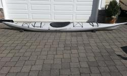 """Wilderness Systems Sealution XL 17'6"""" excellent sea Kayak. Complete with spray skirt, Paddle float, pump and Paddle. This boat is very stable and extremely comfortable even in rougher waters."""