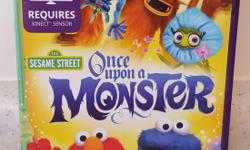 A Storybook adventure game on Xbox 360 Kinect that delivers family co-play set in whimsical fantasy world with quirky new characters and a story narrated by beloved Sesame Street characters. Pick up in Kanata North. Check out my other ads :)