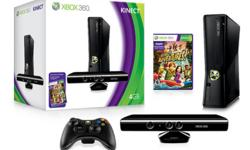 THIS IS A BRAND NEW XBOX 360 WITH KINECT THAT COMES COMPLETE WITH THE BOX!   EVERYTHING IS BRAND NEW AND WAS ONLY PLAYED ONCE!   COMES WITH 2 XBOX 360 CONTROLLERS AND 2 KINECT GAMES!   -KINECT ADVENTURES -KINECT SPORTS   IF INTERESTED PLEASE EMAIL, CALL