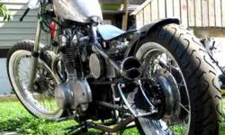 NEEDS  COMPLETION PAINT AND ASSEMBLY REALLY NICE LOOKING BOBBER MORE INVESTED THAN THE ASKING PRICE. NO LOW OFFERS LOTS OF EXTRAS NO-E-MAILS 289-271-2469