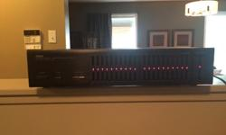 Like new condition. 10 band eq. No holds.