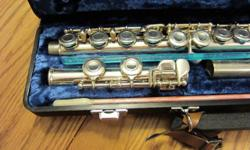 Yamaha Flute. Likely, most suitable for a beginner. Refurbished in the not too distant past, so it excellent working order. Looking for a good home. Yours for $100 or best offer.