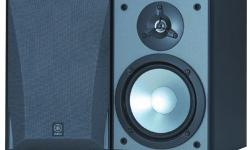 """I am selling a barely used pair of Yamaha NS-5290 bookshelf speakers. The speakers are in perfect condition and come packaged in the original box. TWO-WAY ACOUSTIC SUSPENSION SPEAKER Yamaha's NS-5290 utilizes a 6 1/2"""" Hi-Polymer coated woofer with an"""