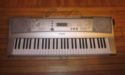 for sale yamaha portatone elctronic keyboard. 75 obo