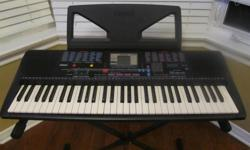 Yamaha PSR-220 Portatone Electronic keyboard, w/ Music Holder & stand. Excellent condition. This is a great price compared to one that is selling on another site for $248