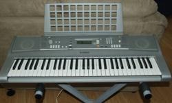 For sale is a 2007 Yamaha PSR-E303/YPT-300 Portatone keyboard. Purchased new in 2007, has been barely used. Like new condition, full working order. Comes with the operating manual and stand.   Excellent instrument equipped with: GM System Level 1 XGlite