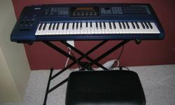A professional keyboard with 100's of voices and recording cabability. A great machine at a great price. Purchased new for $2500 about 10 years ago.