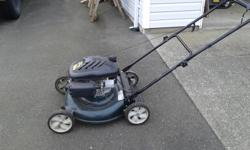 Yardworks mower for sale .173cc motor , 21 inch cutting, 3 in 1: Mulch, side discharge or bag. $200 OBO
