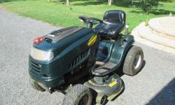 riding lawn tractor...42'' cut ....16,5 briggs ...electric start runs awesome... $700.00 kemptville 613-258-5866
