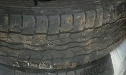 Take all 4 for $100. 3 are 7/32nds tread depth one is 3/32nds tread depth. I didn't rotate these tires on my Suzuki Gran Vitara and the RR is worn out. This ad was posted with the Kijiji Classifieds app.