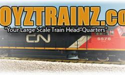 """ALL ABOARD FOR GREAT PRICE'S & SELECTION""       From all the Major ""G"" Scale Manufacturers,why pay those high price's when you can save money at  BigBoyzTrainz.com..Quoted Prices are net you pay nothing more,unless delivery is required then we only"
