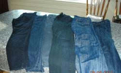 I HAVE ABOUT 15 PAIRS OF YOUTH'S JEANS VARIOUS WAISTS AND LENGTH SIZES EXCELLENT CONDITION SOME HAVE NOT EVEN BEEN WORN EXCELLENT FOR SCHOOL OR GOING OUT ALSO PAIR OF RED SHORTS GOOD FOR GYM OR OUTSIDE WARE GOOD QUALITY WASH & WEAR CONTACT ANYTIME: