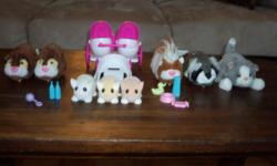 4 Zhu Zhu pets, 3 Zhu zhu babies and 1 Fur real as well as an ice cream parlour for the pets. All in very good condition.