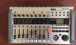 This is a virtualy new Zoom R24 Multy Track Recorder and Pro Instructional DVD's. Purchased this for my son but he turned in on once far a couple of hours and it has been stored on a closet shelf since. Please see attached link. Price is firm.