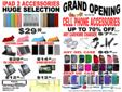 Grand Opening Sale Best Price in Town   Cell Phone Accessories and Repairs Acom Systems 1353 - 1/2 Main Street East, Hamilton L8K 1B2 Across Esso Gas Station   289-812-1111 Any BlackBerry Unlocking For Free Offer Until 11th February Saturday Condition:
